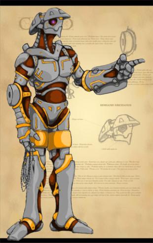 Barroque Robot