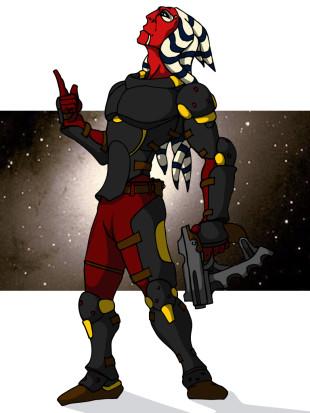 Togruta Gunslinger