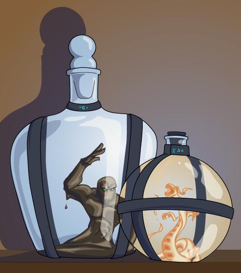 Elementals in Jars