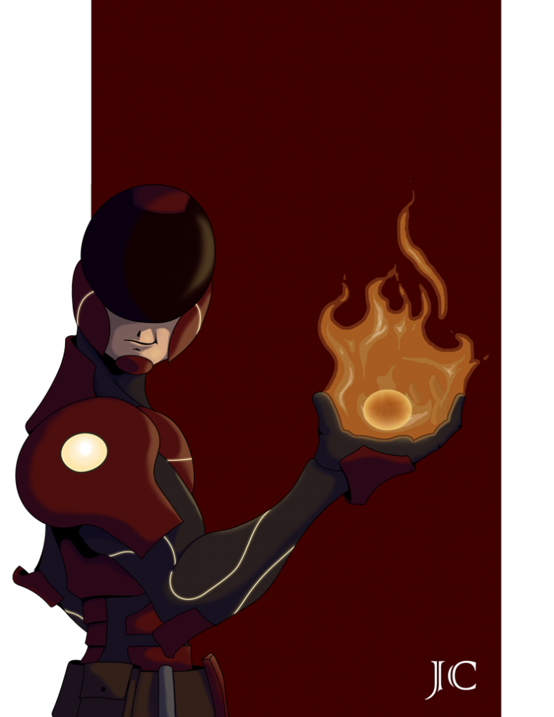 Scifi Pyrokineticist